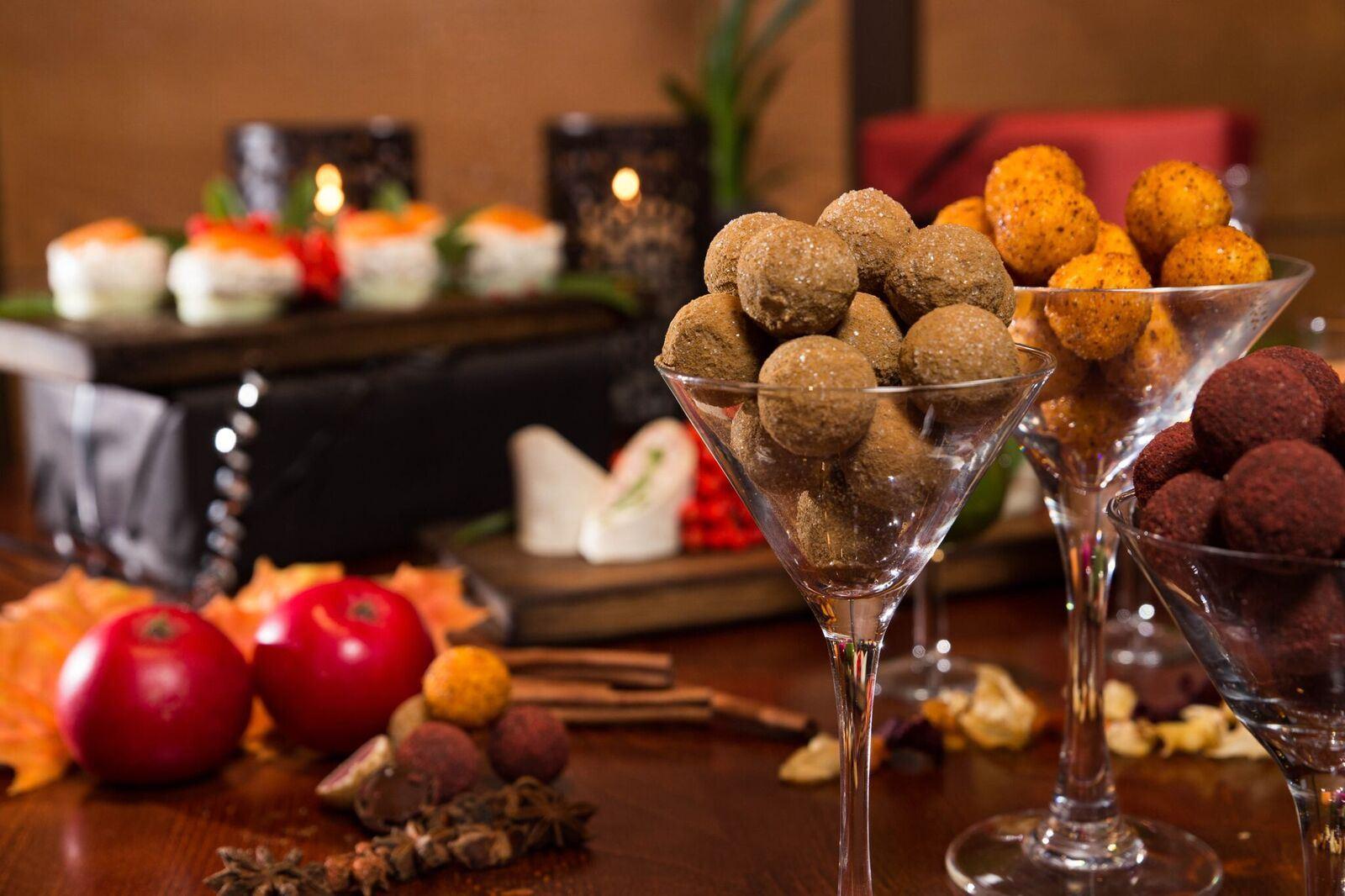 Jultapasbuffé i Oliven restaurang & bar