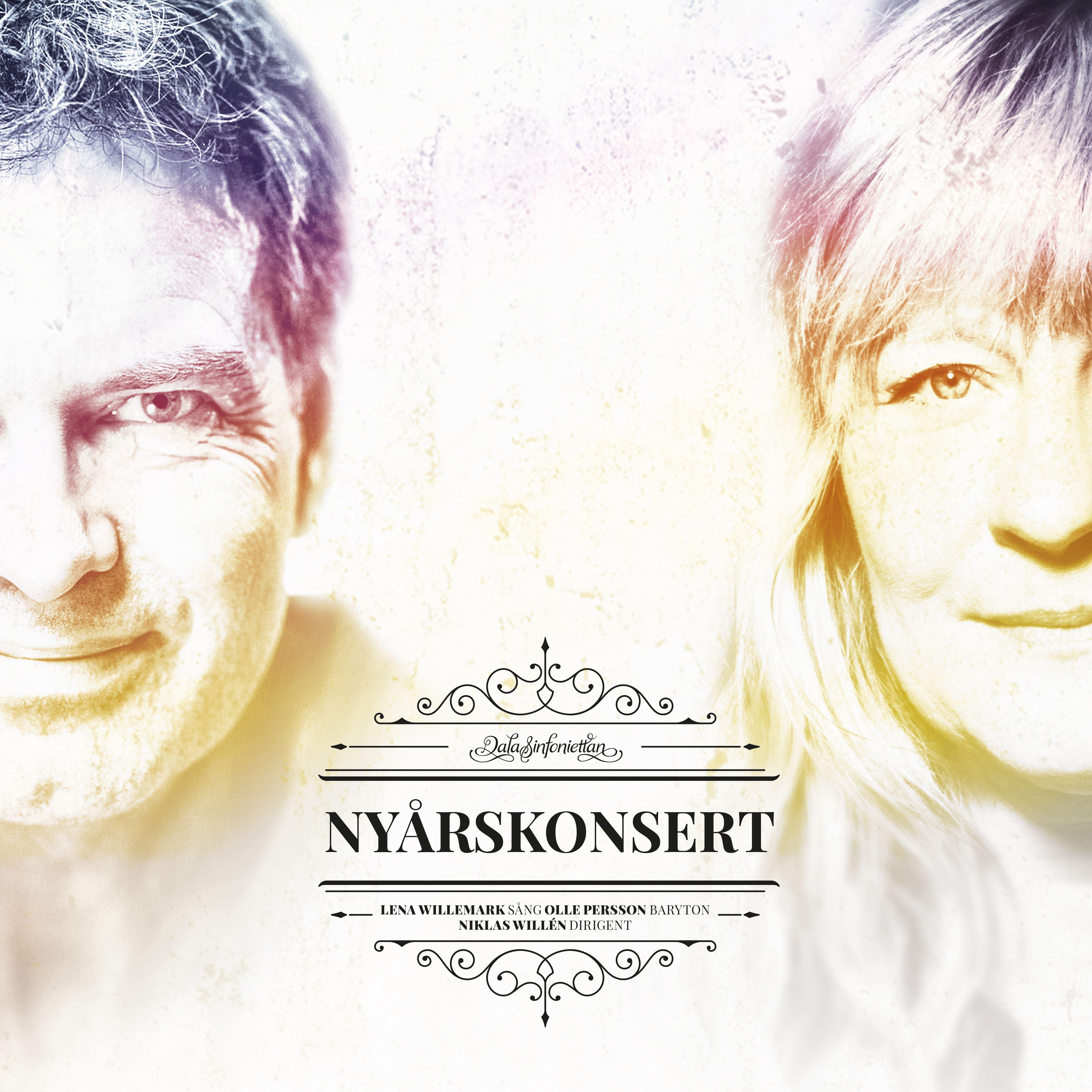 Nyårskonsert med Lena Willemark, Olle Persson och Dalasinfoniettan