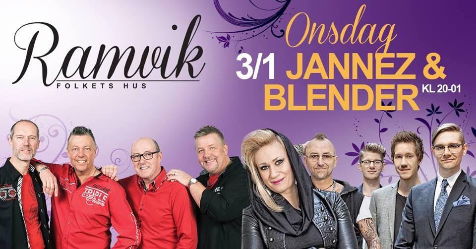 Dans till Jannez & Blender på Ramviks Folkets Hus