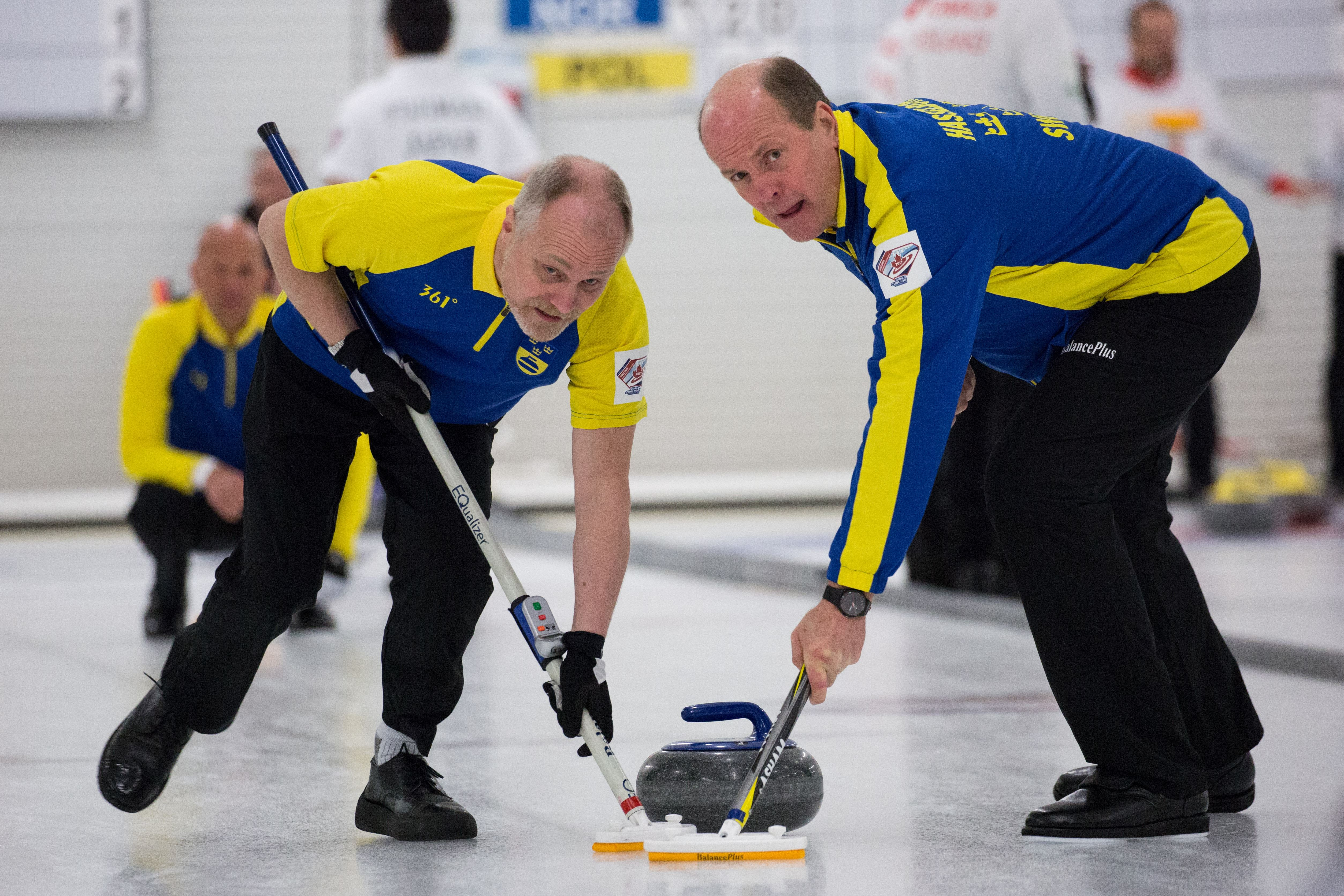 Curling-SM Oldgirls/Oldboys 2018