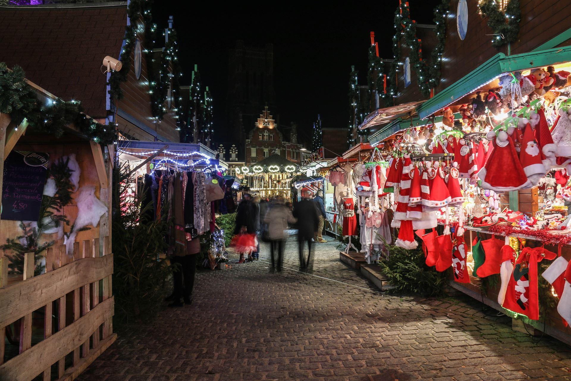 Julmarknad på Brännaborg
