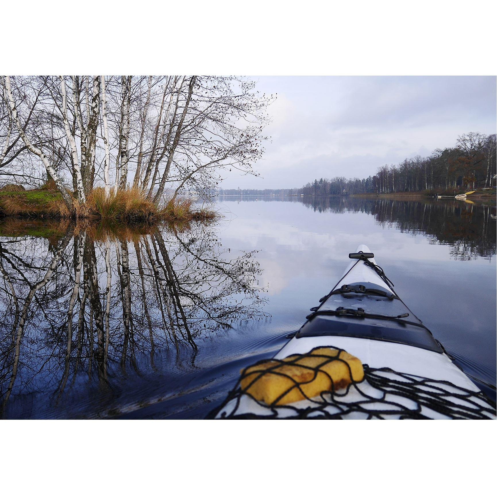 Paddeltur 1: Runt Näset i Osbysjön (4 km eller mer)
