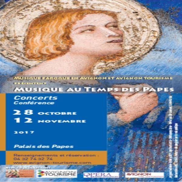 Concert Palais des Papes Musique Baroque en Avignon