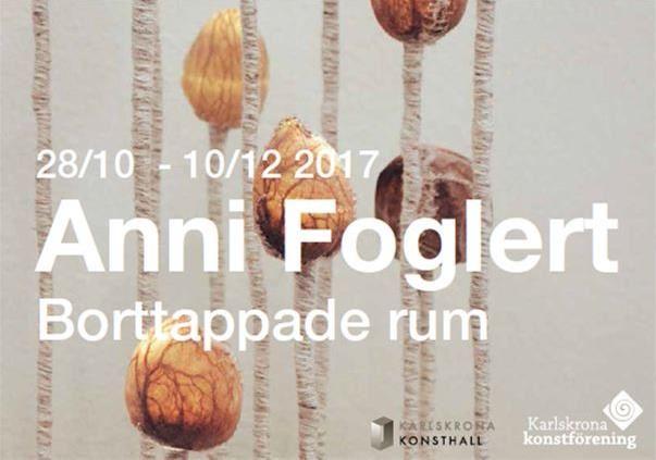 Anni Foglert - Borttappade Rum