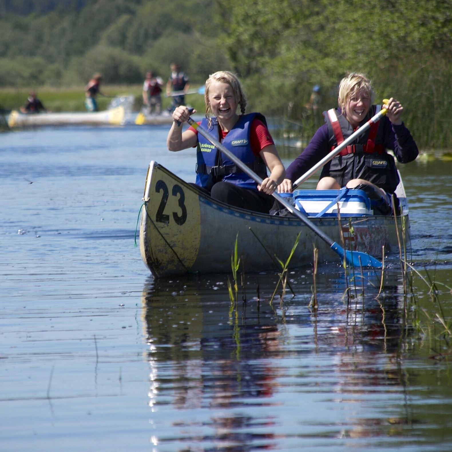 Paddeltur 2: Helge å: Kornberga - Visseltofta (6,5 km)