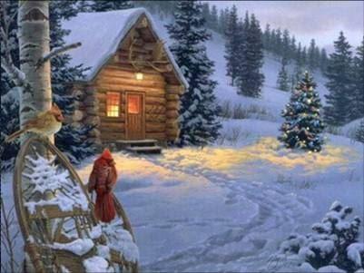 Julmarknad på Granhyddan