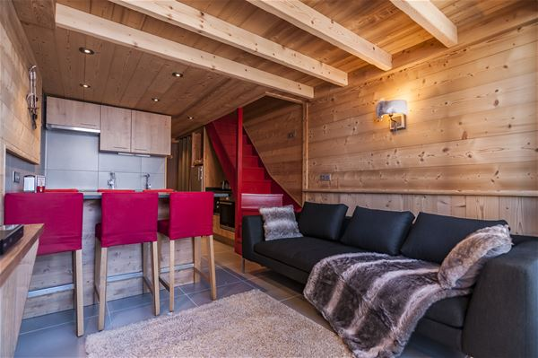 Silveralp 337 > 3 Room Duplex + Cabin- 6 People - 4 Gold Snowflakes (Ma Clé IMMO)