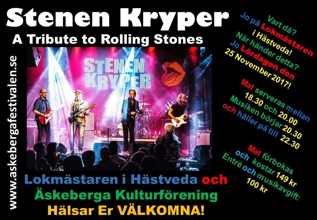Stenen Kryper: A Tribute to Rolling Stones