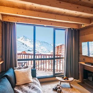 Silveralp 456 > 3 Rooms + Cabin in Duplex - 6 People - 4 Gold Snowflakes (Ma Clé IMMO)