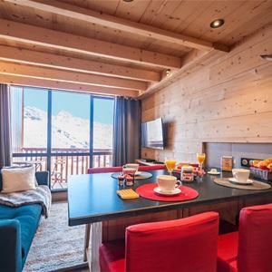 Silveralp 456 > 3 pièces + cabine en duplex - 6 personnes - 4 Flocons Or (Ma Clé IMMO)