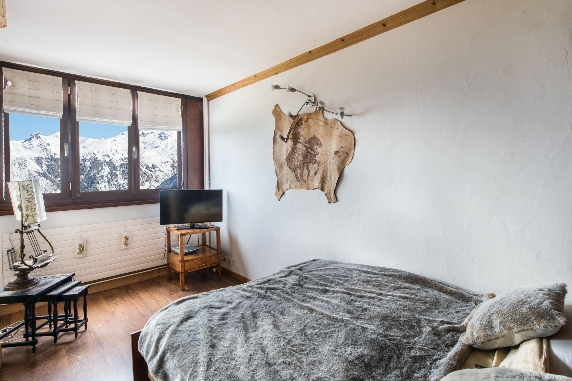 4 rooms 6 people / PORTE DE COURCHEVEL 410 A (mountain of charm)