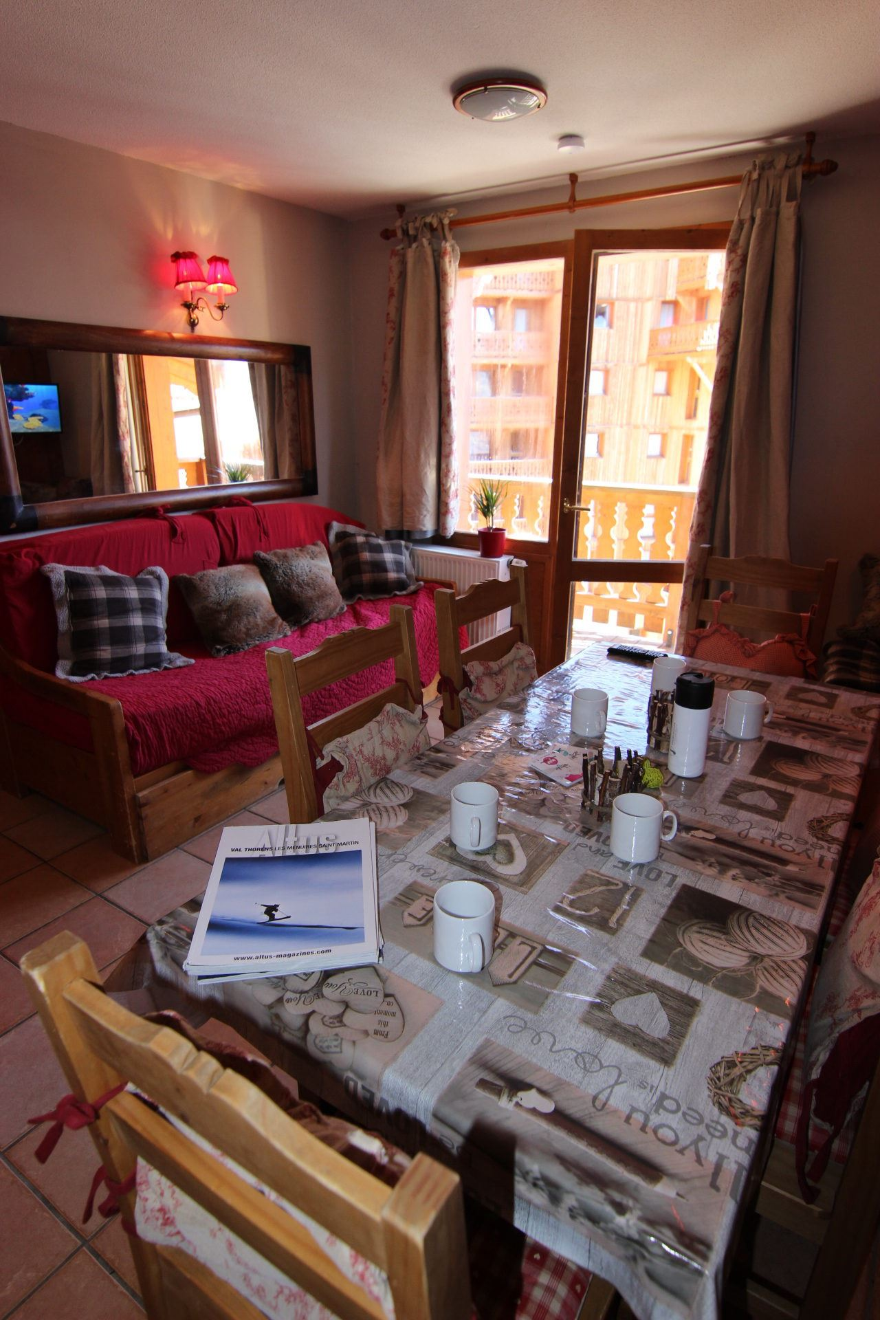 CHALET 6 QUARTIER BALCONS 644 / 2 ROOMS 6 PERSONS - 3 SILVER SNOWFLAKES - VTI
