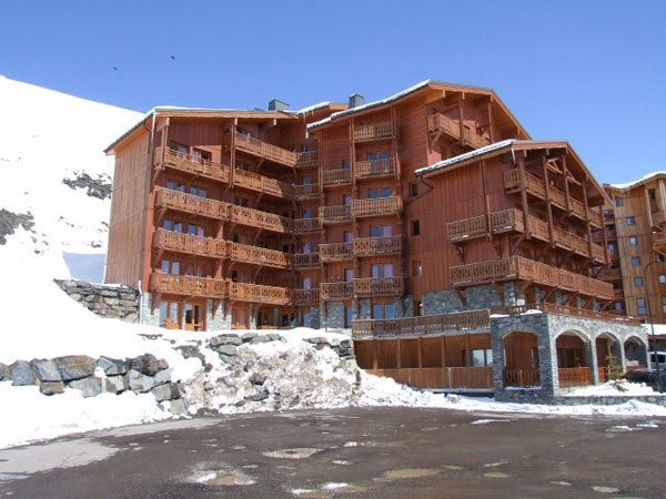 CHALET 6 QUARTIER BALCONS 644 / APARTMENT 2 ROOMS CABIN 6 PERSONS - 3 SILVER SNOWFLAKES - VTI