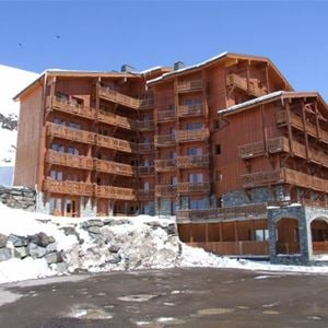 CHALET 6 QUARTIER BALCONS 646 / APPARTEMENT 2 PIECES 4 PERSONNES - 3 FLOCONS ARGENT- VTI