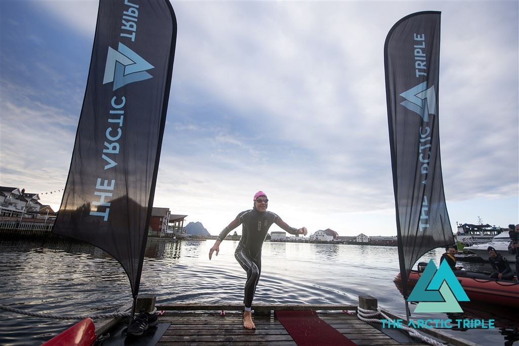 © Kai-Otto Melau / www.thearctictriple.com, Lofoten Triathlon Olympic+ // The Arctic Triple