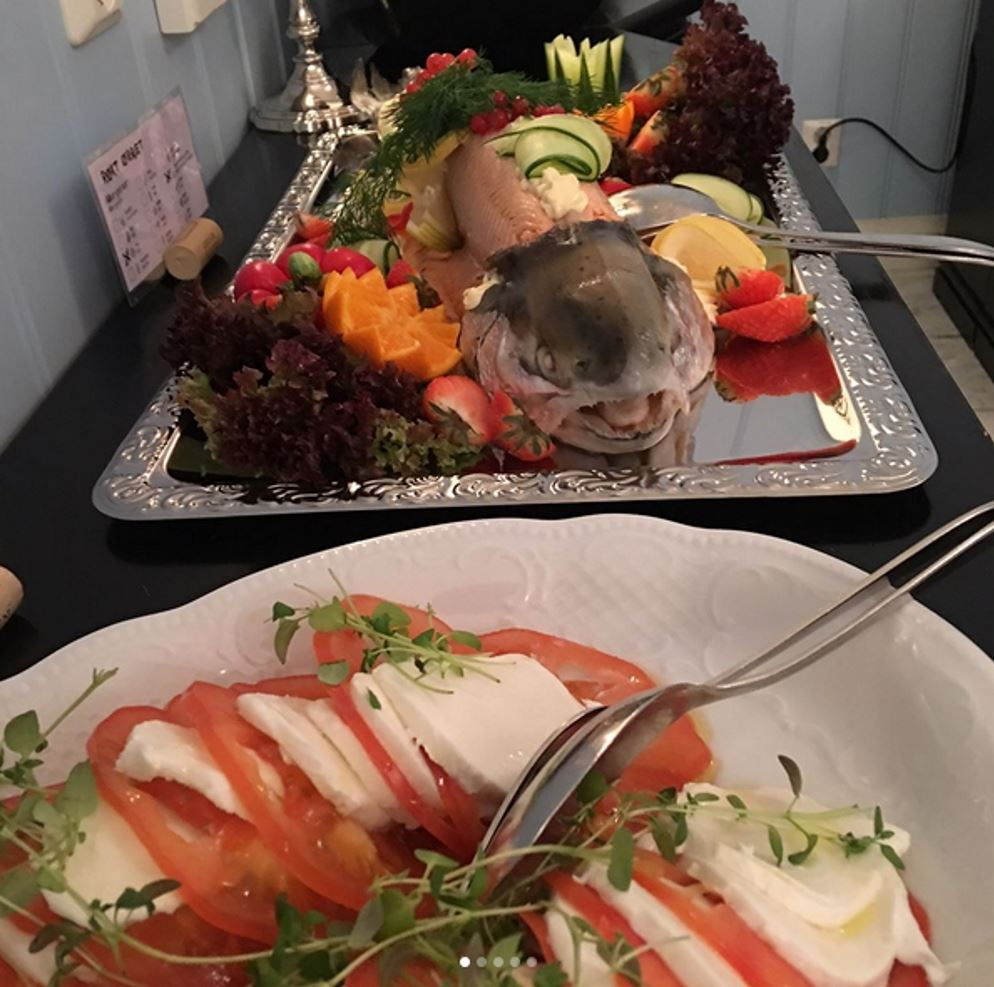 17.mai buffet på Hafjell Hotell