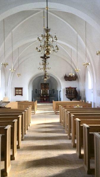 Julekoncert med alle byens kor i Sakskøbing Kirke