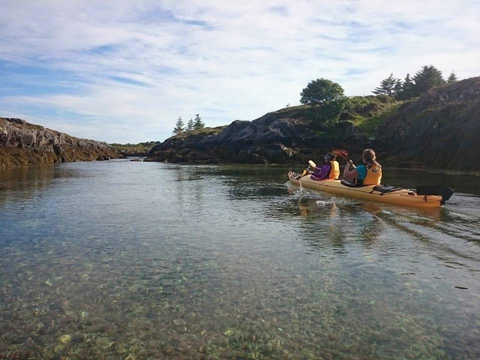 3-dagers guidet havpadletur med Basecamp Brasøy, Helgelandskysten. 11.- 13. juli 2018