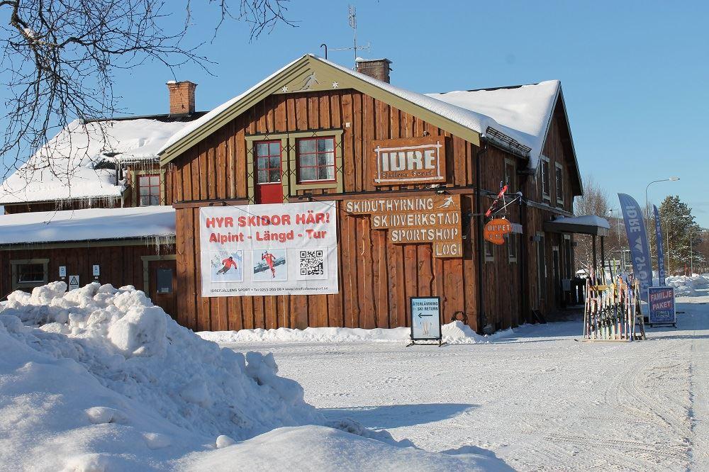 Idrefjällens sport ski rental & ski workshop