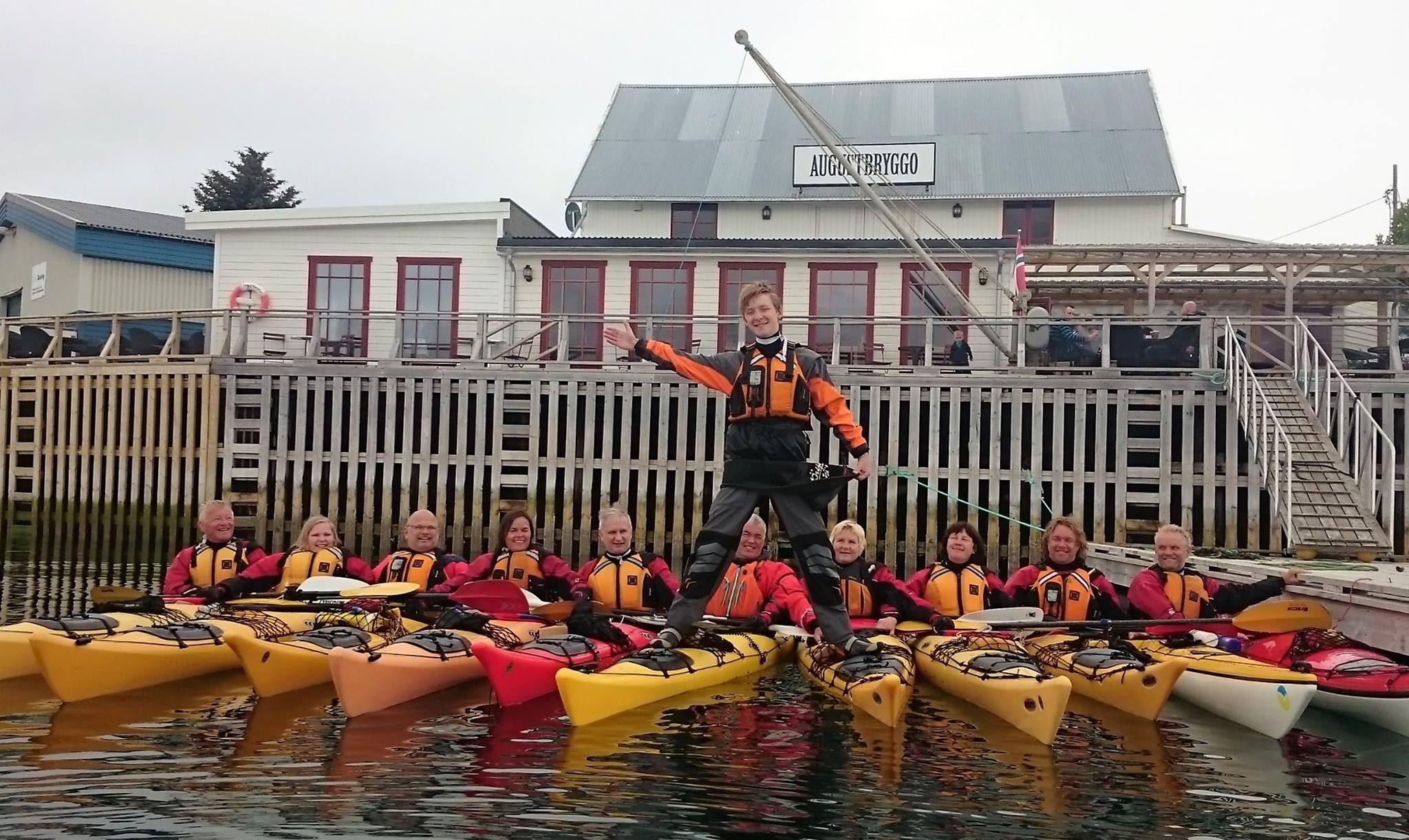 Weekendopplevelse Ut i Øyan - Grunnkurs i havpadling (16 t.) Seløy i Herøy 14.- 15. juli 2018