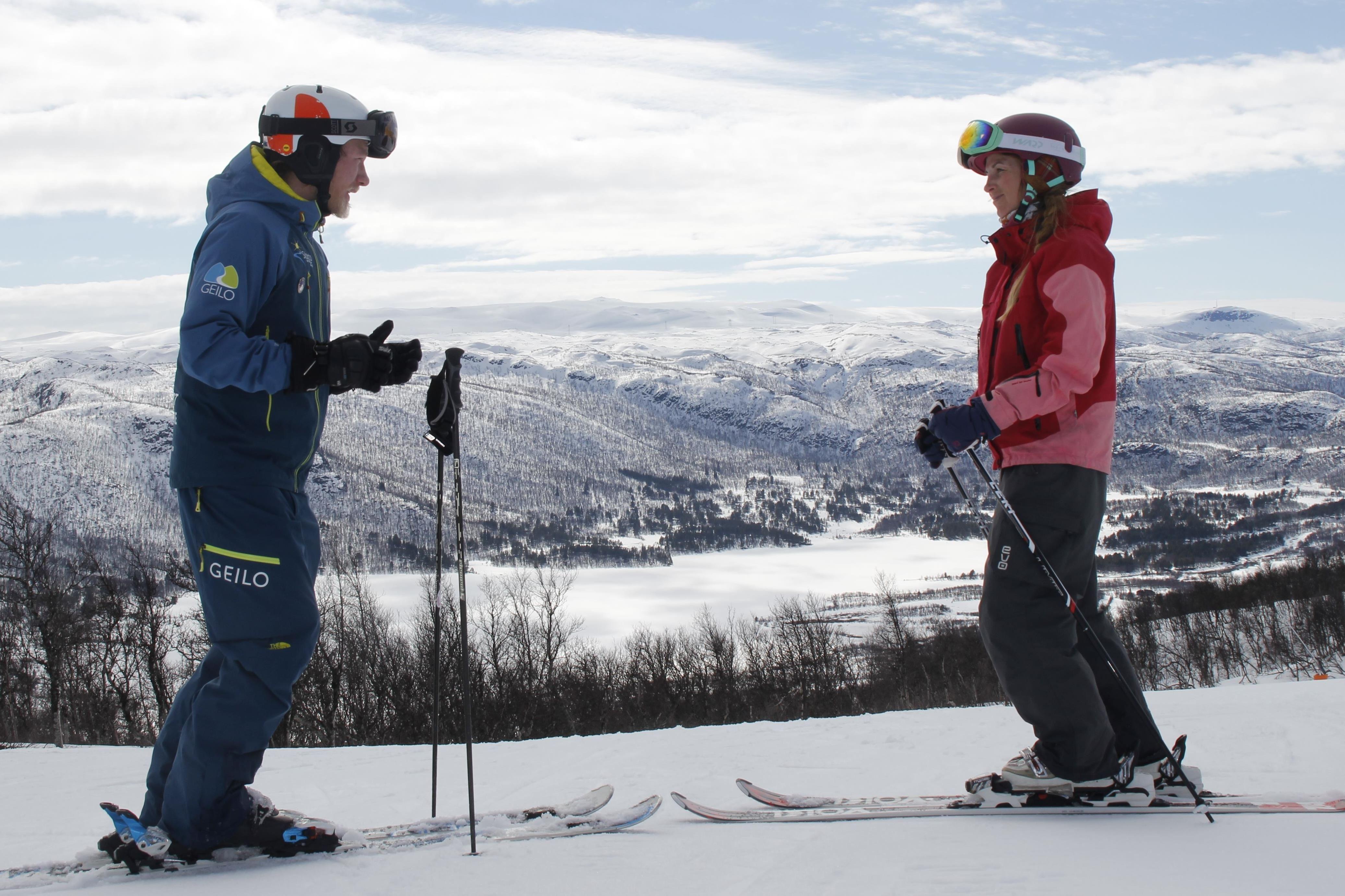 Slaatta Skisenter AS,  © Slaatta Skisenter AS, Få bedre ski opplevelse med privat ski instruksjon