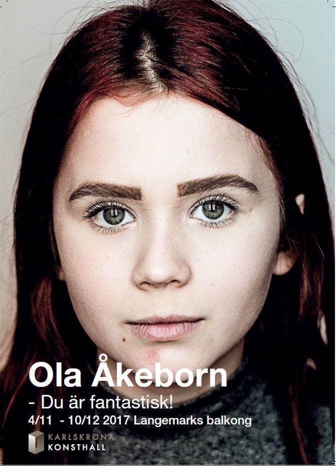 Konstutställning: Ola Åkeborn - Du är fantastisk!