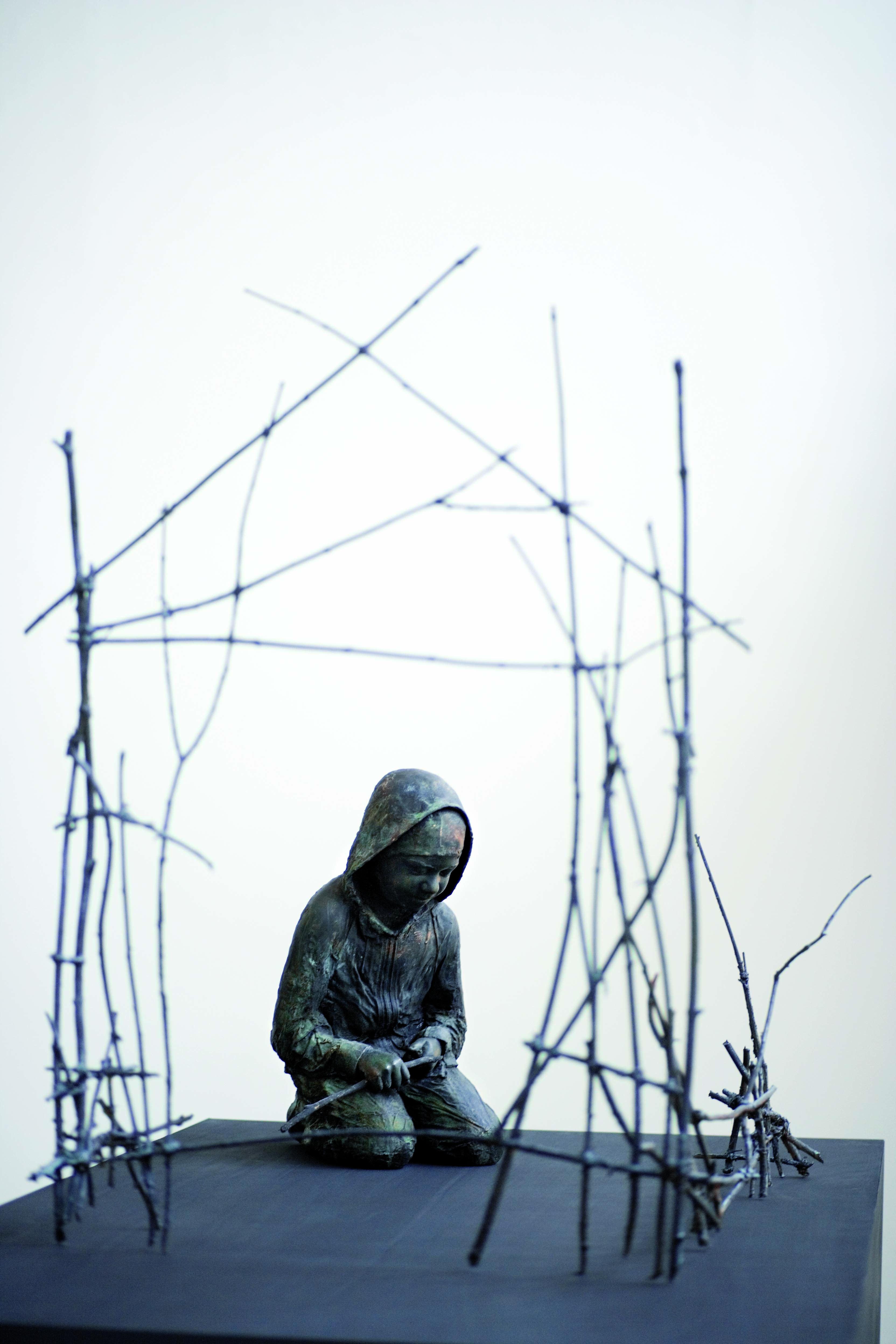 Alexandra Ellis, Visning av Knutte Westers utställning