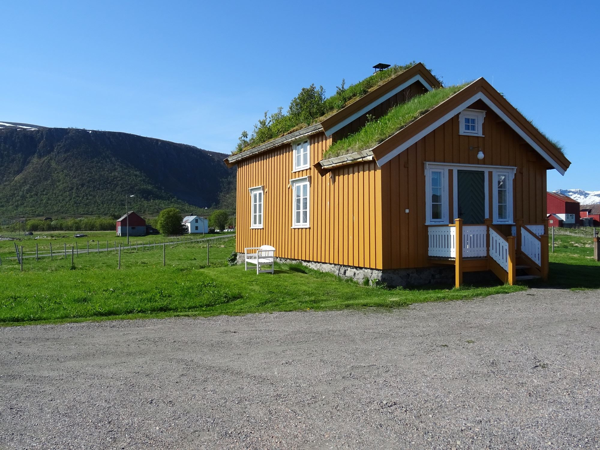 Loviktunet,  © Loviktunet,  The Yellow house,Lovik, Andøy,Vesterålen
