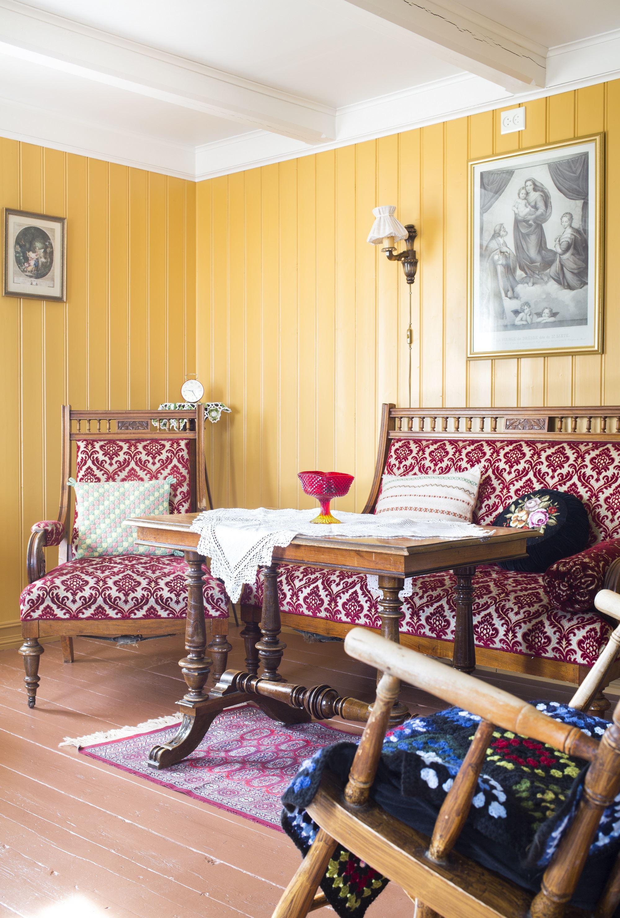 Katrine Sørgård,  © Loviktunet, Det Gule Hus, Lovik, Andøy, Vesterålen