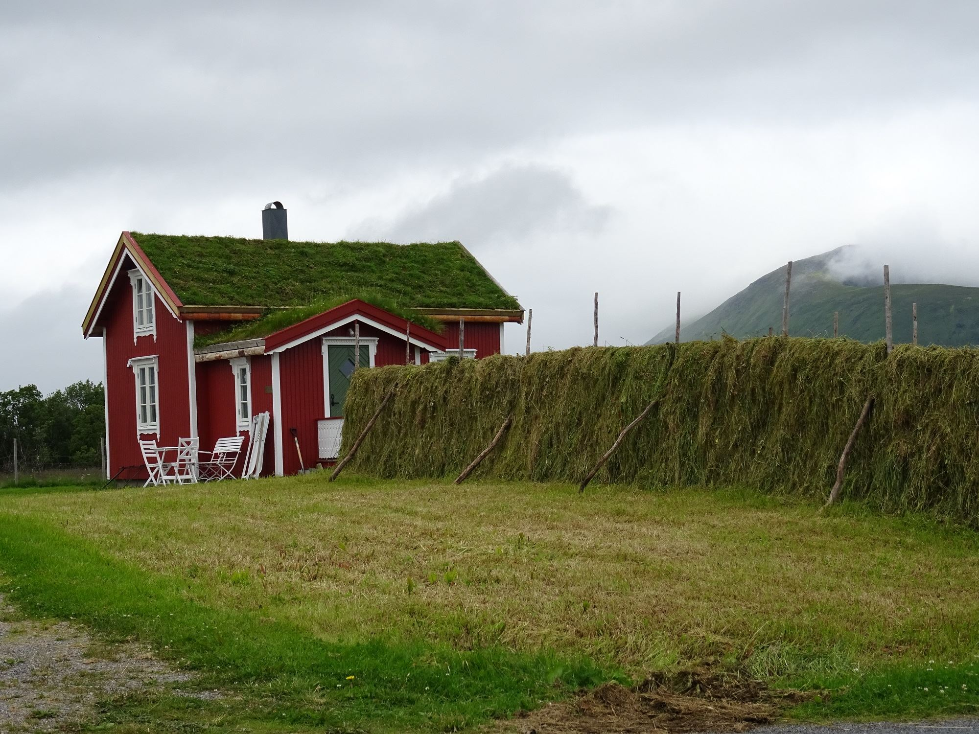 The Red house,Lovik, Andøy,Vesterålen