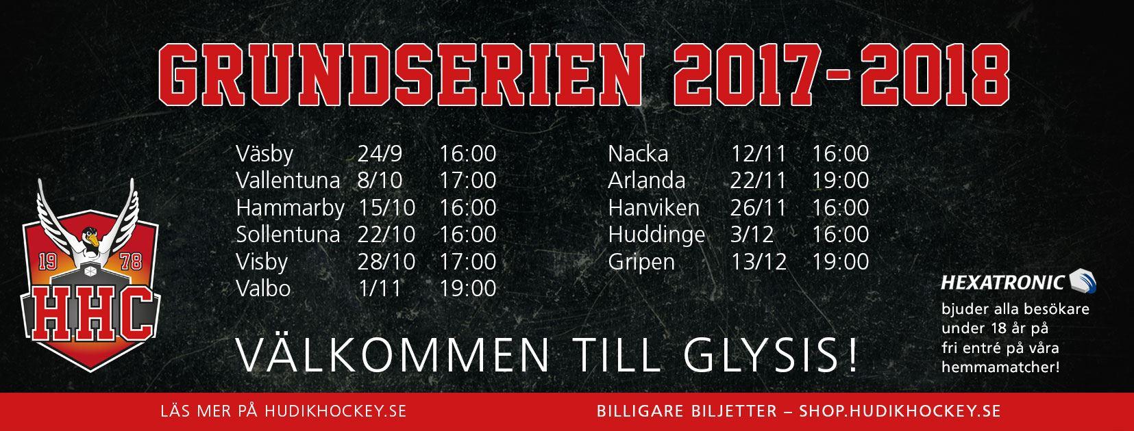 Hudik Hockey-Nyköpings HF Ungdom