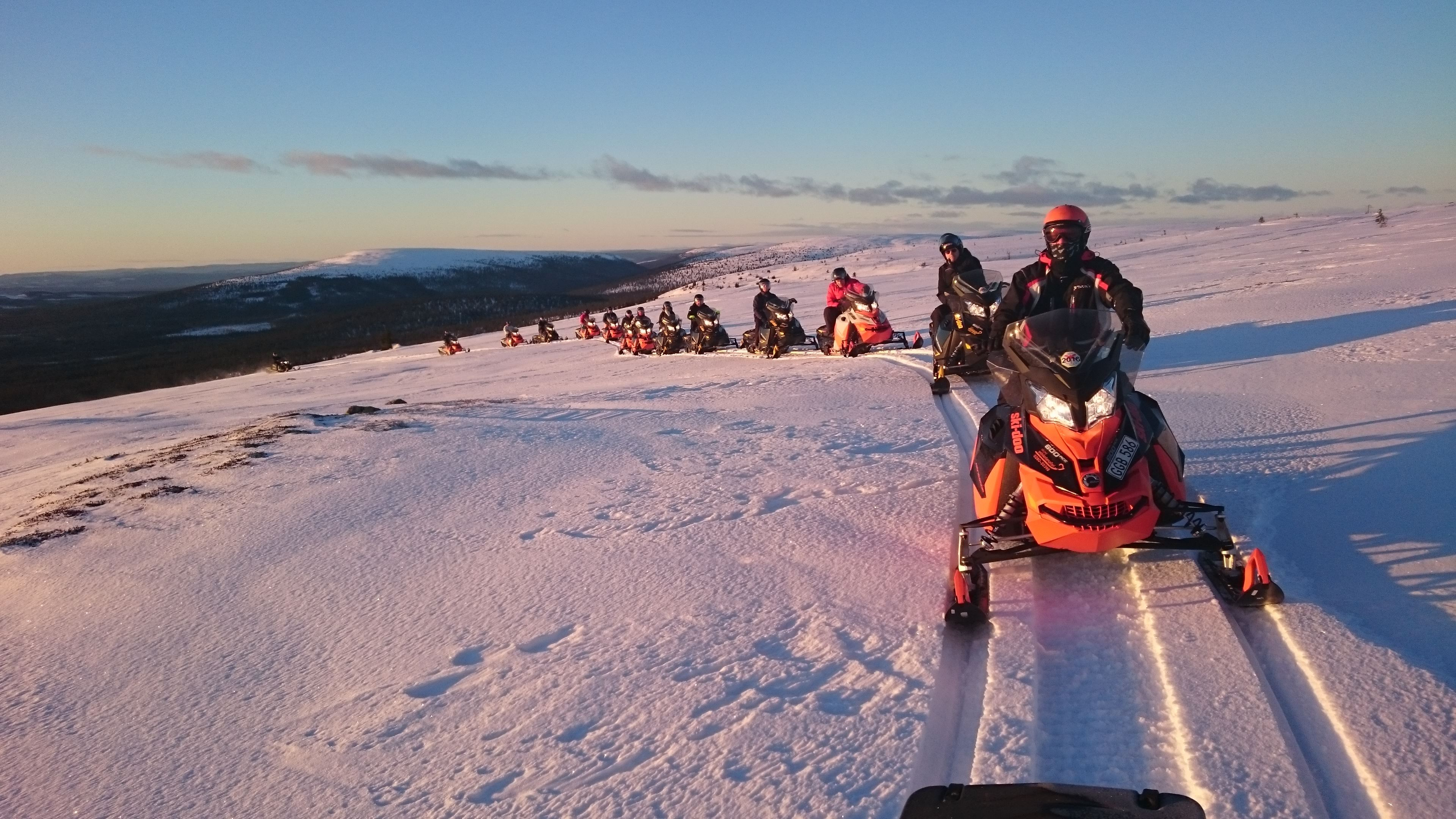 Sälens snowscootersafari