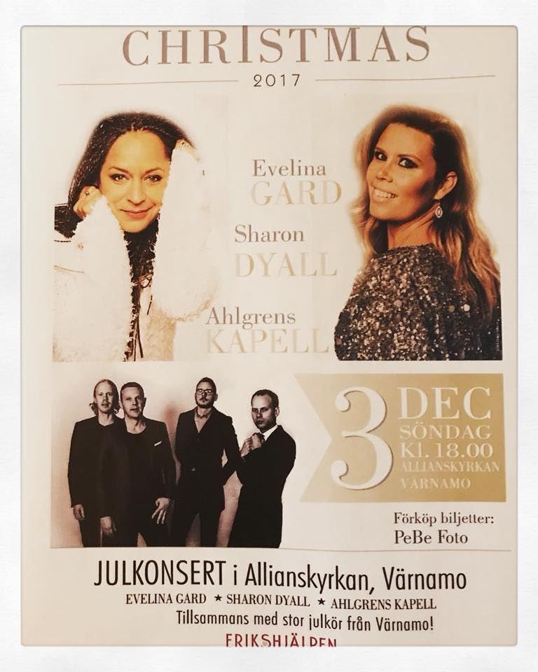 Julkonsert i Allianskyrkan