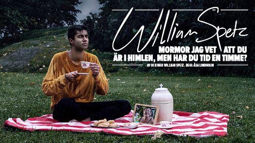 Foto: Blixten & Co,  © Copy: Blixten & Co, William Spetz på en picnicfilt