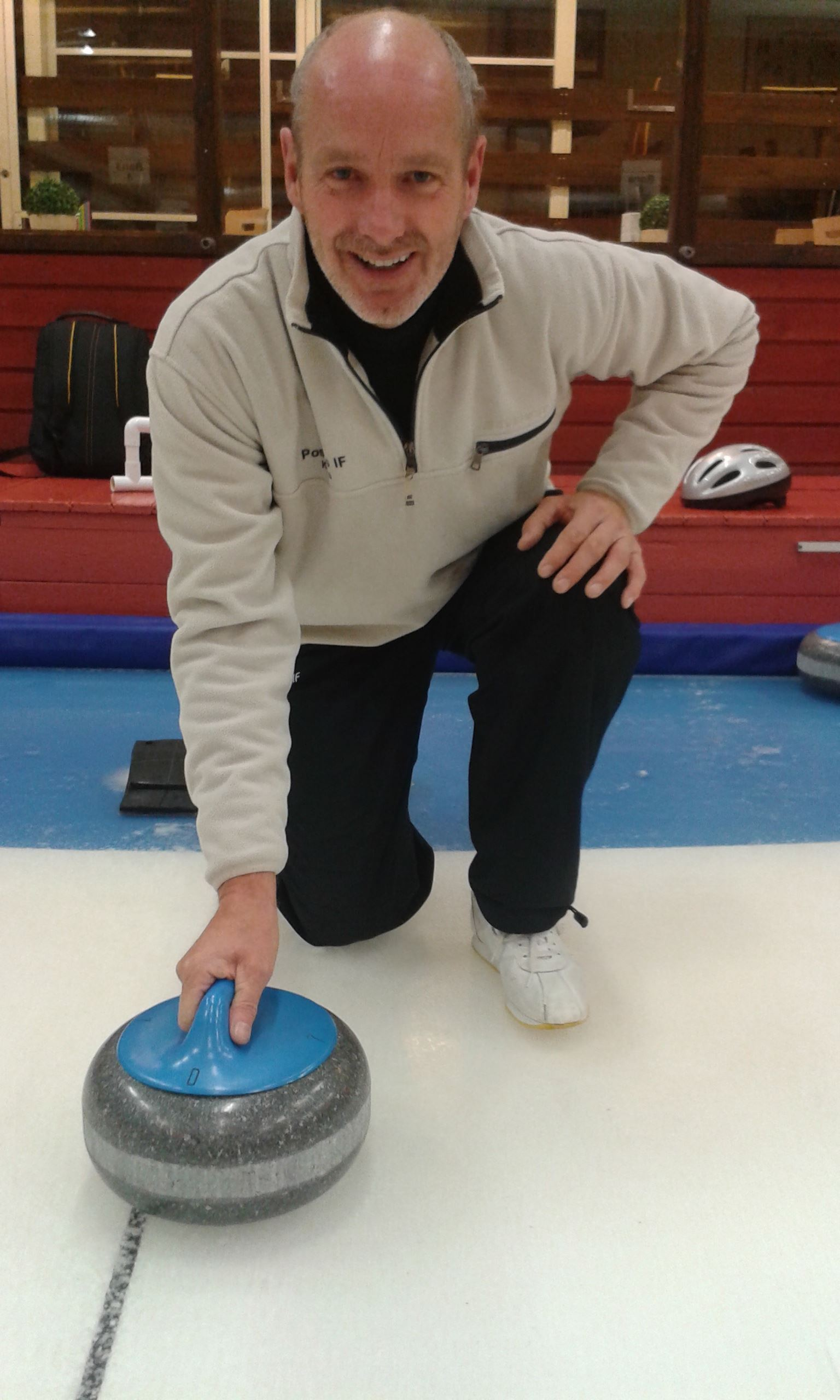 Curling på hal is