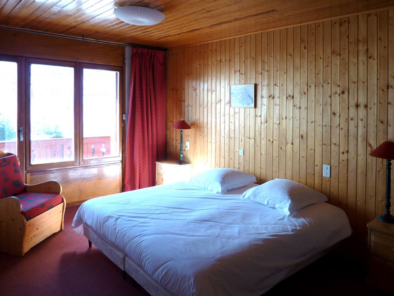 3 rooms 4 people ski-in ski-out / ROND POINT DES PISTES 616 (mountain)