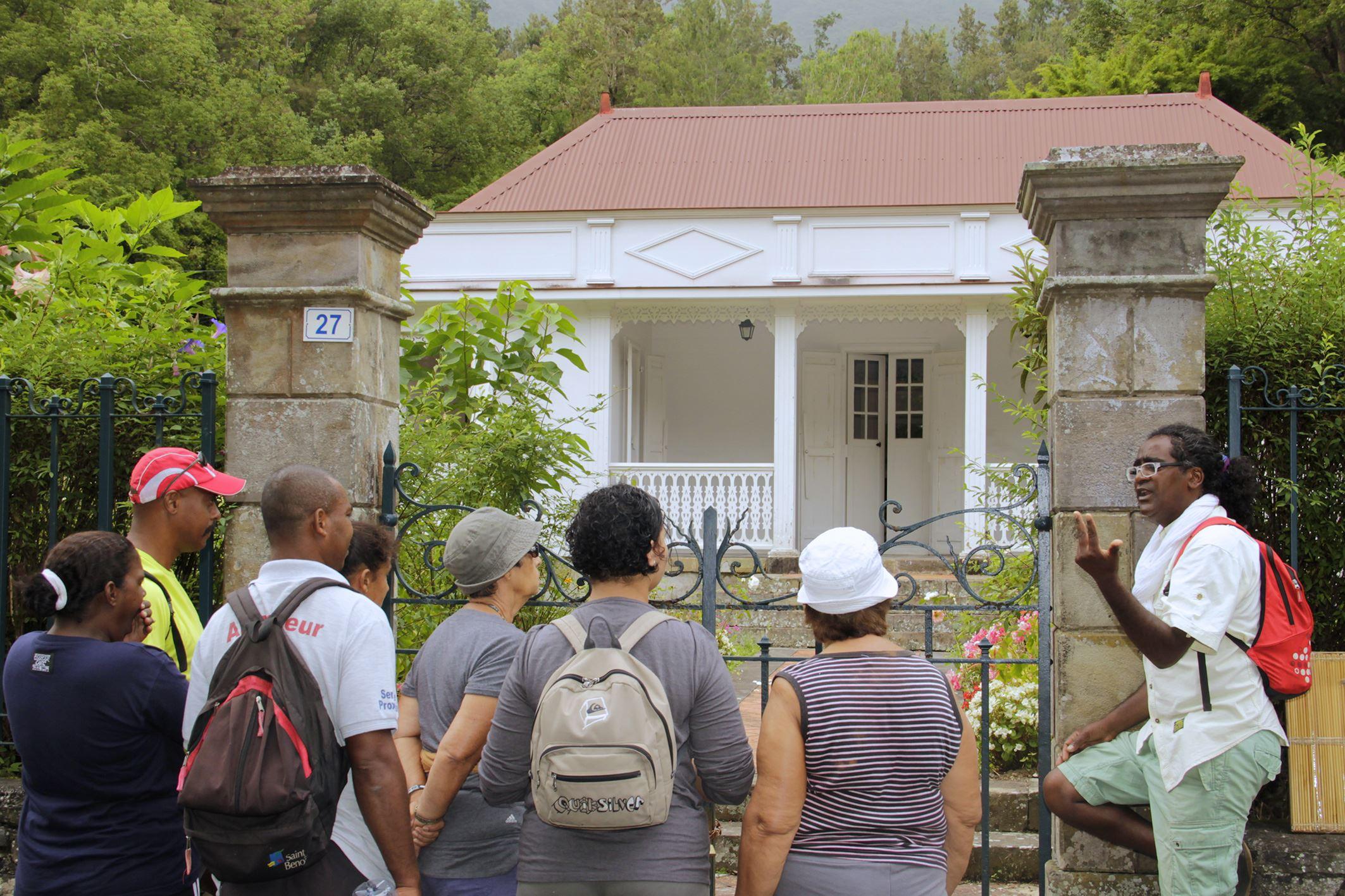 """Spaziergänge """"Les Cases Créoles"""" (Kreolische Häuser)"""