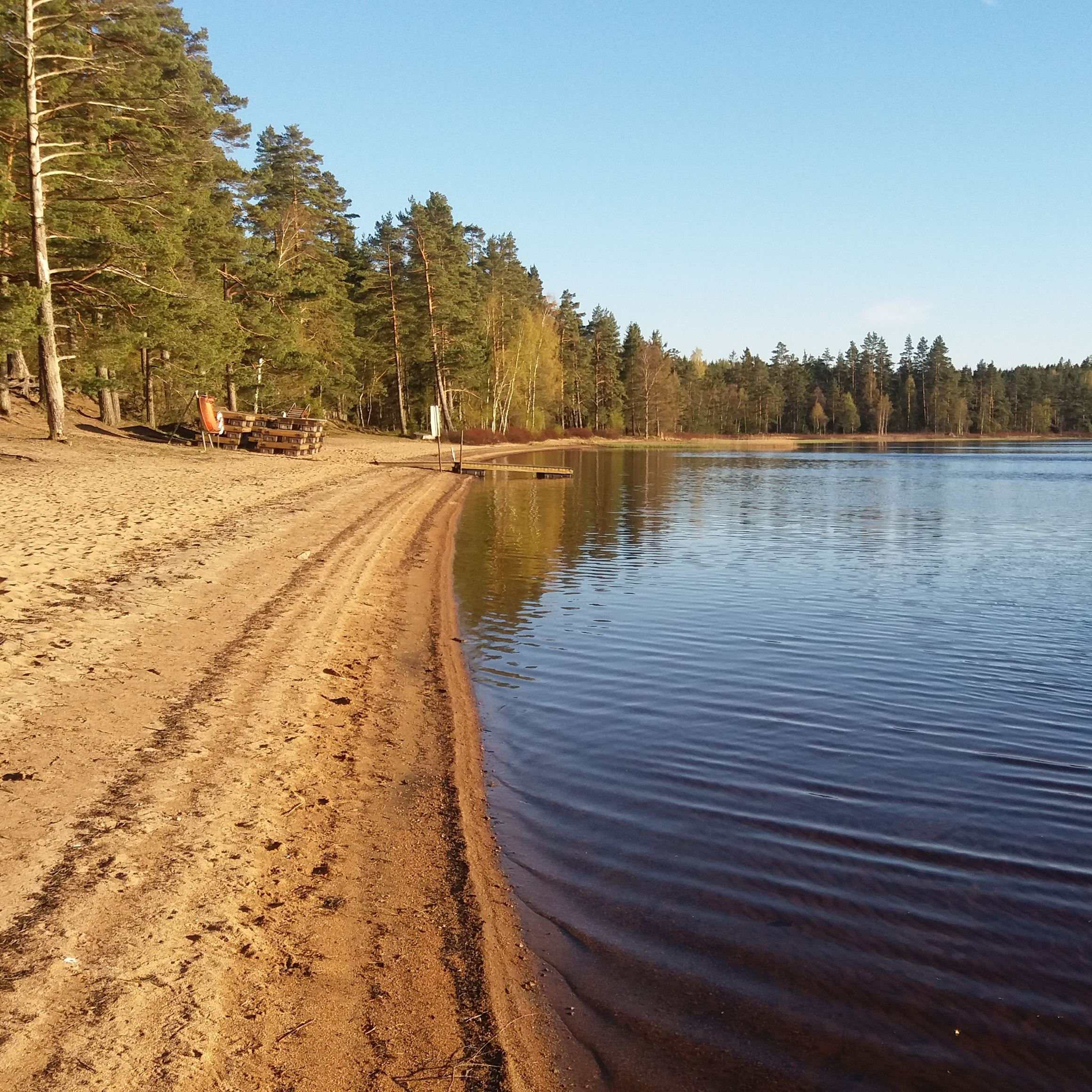 Vesljungasjön, bad