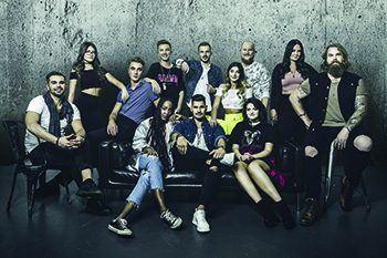 Idolfinalisterna till Kosta Outlet
