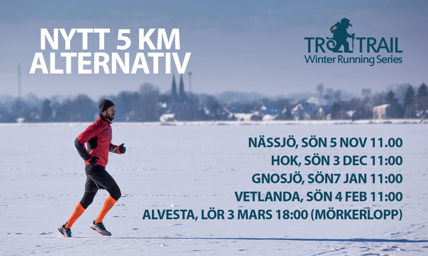 Troll Trail - spring Småland i vinter