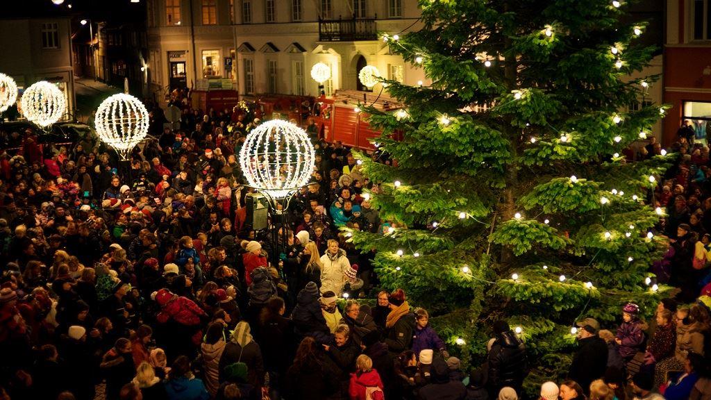 Die Weihnachtsstadt in Nakskov