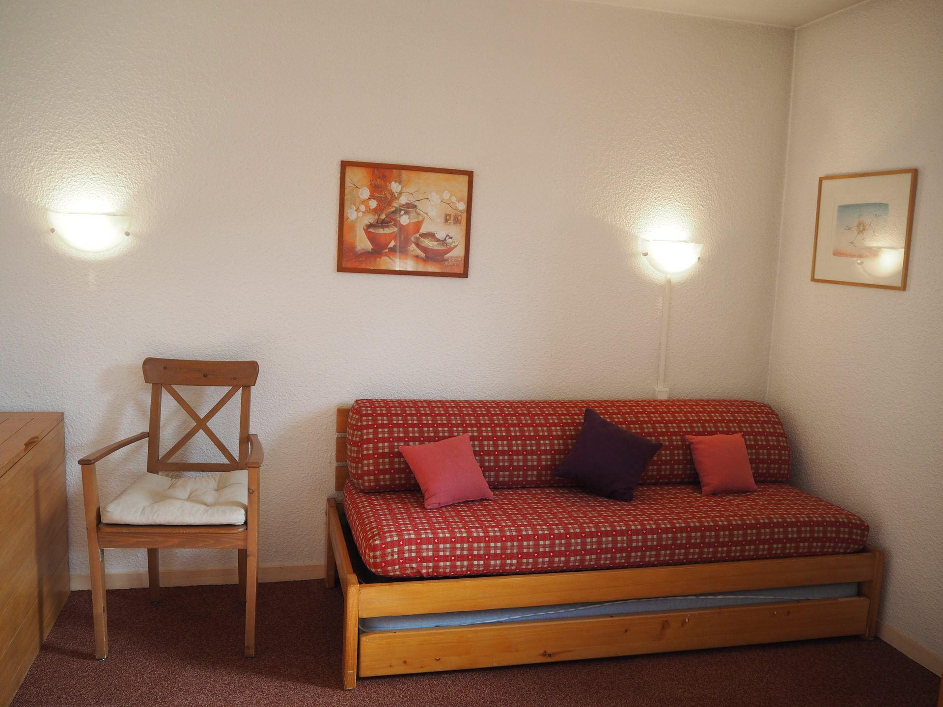 2 Rooms 4 Pers ski-in ski-out / SOLDANELLES B 212