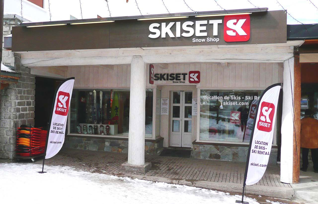 MAGASIN SKI SERVICE SNOW SHOP : RUE DES TOVETS COURCHEVEL