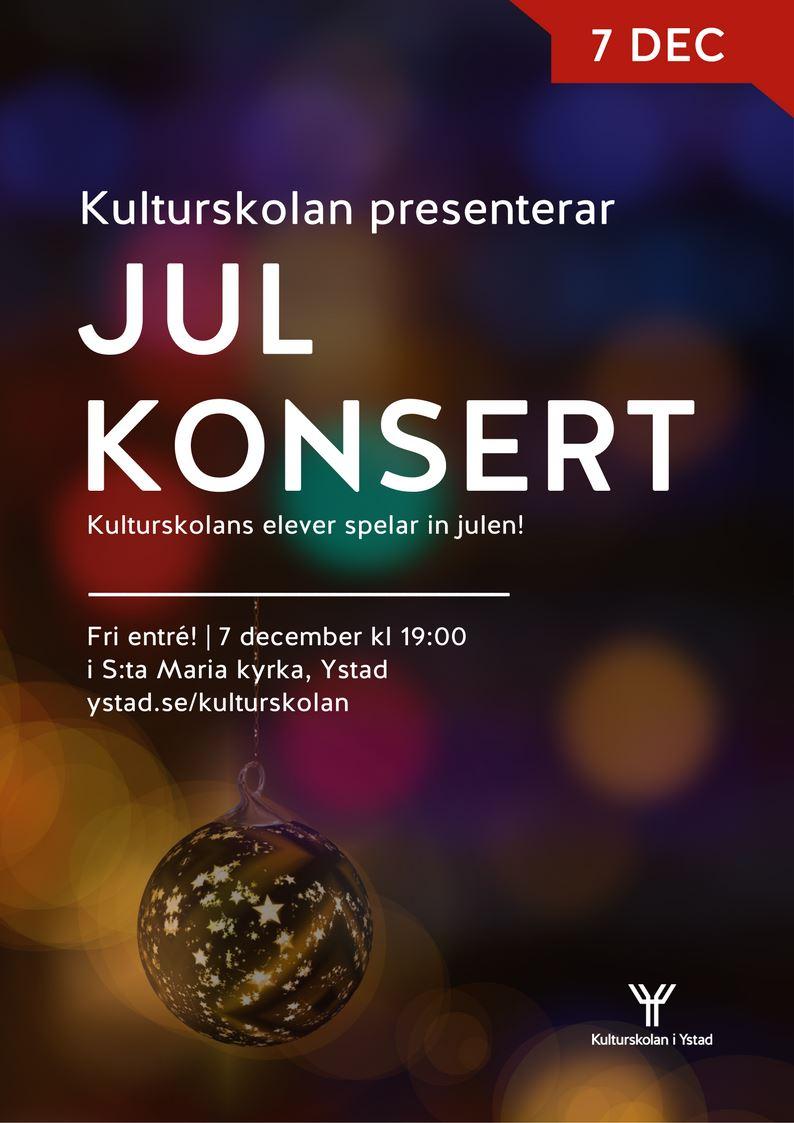 Kulturskolans julkonsert