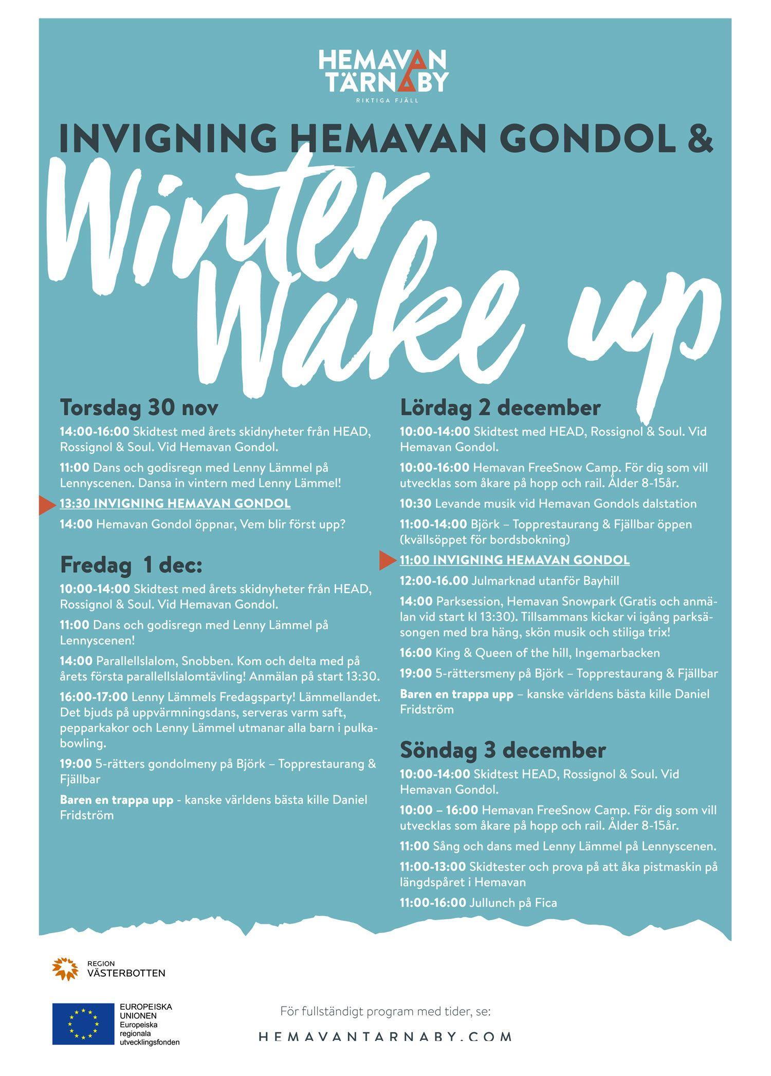 Winter Wake Up