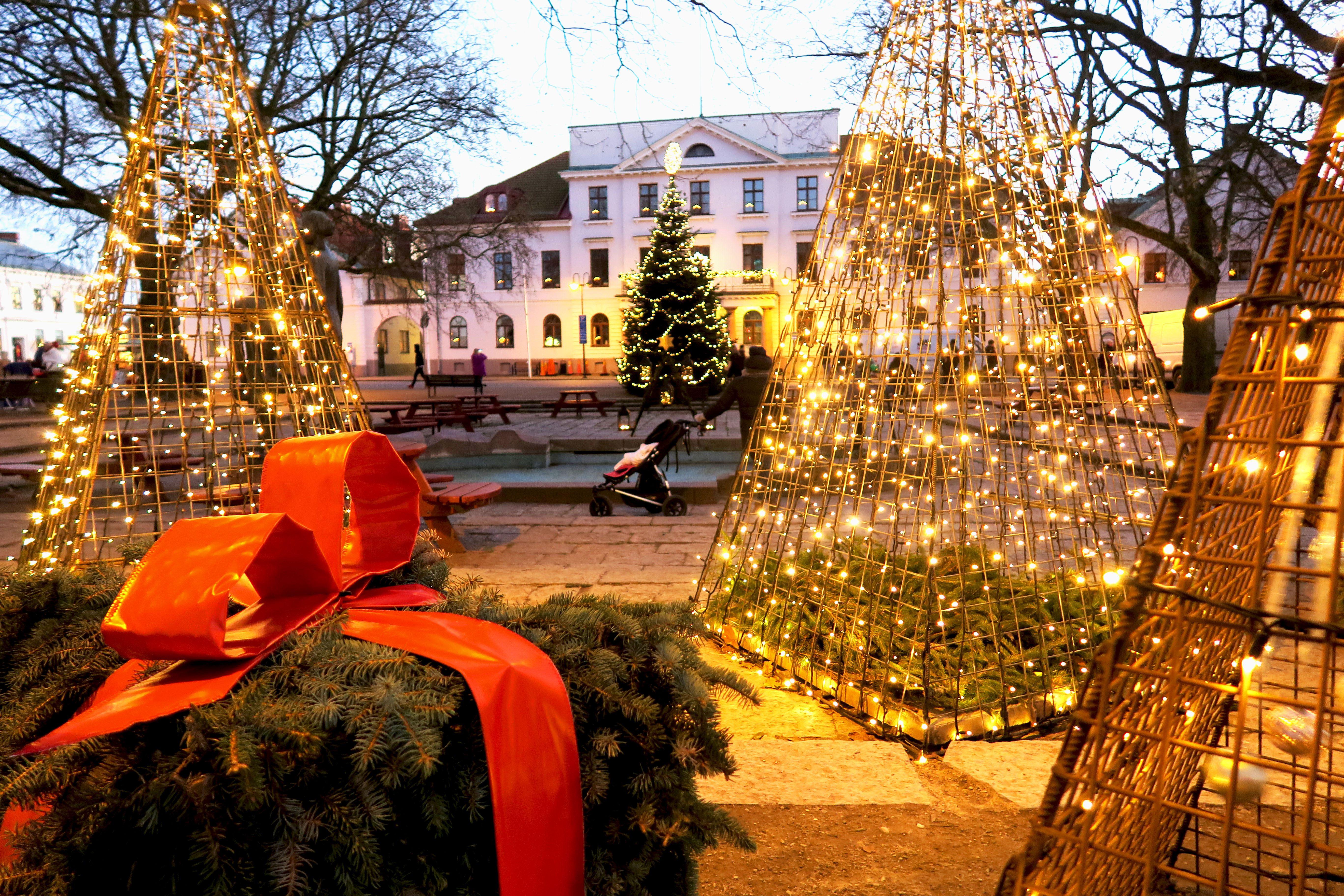 Invigning av Julen i Ystad