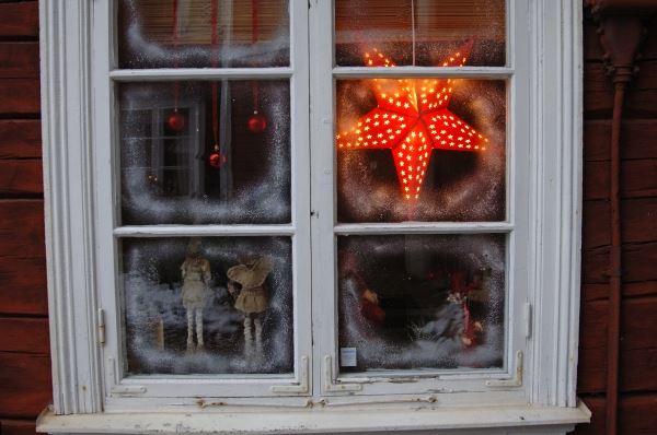 Smålandsbilder, Weihnachtsmarkt in Tannåker