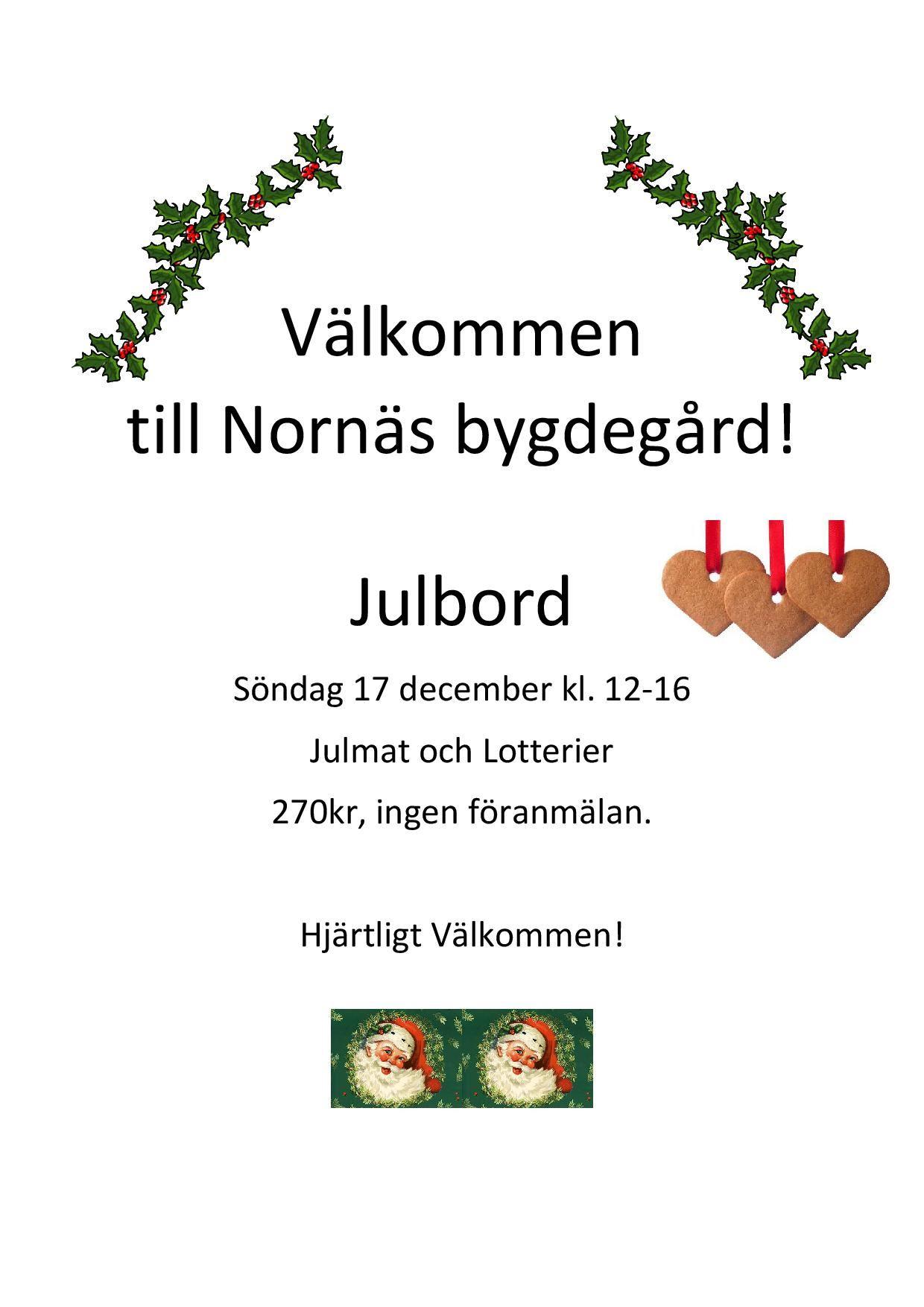 Julbord i Nornäs