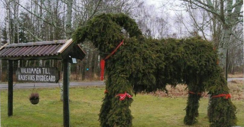 Julmarknad i Kalvsviks Bygdegård.
