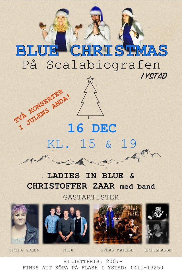 Blue christmas @Scalabiografen